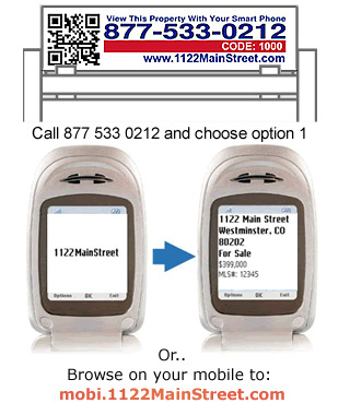 SMS Text flyers for real estate